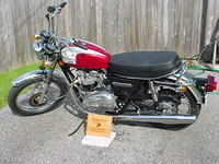 Award winning Triumph Bonneville