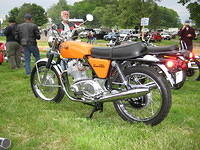 Chris' Norton 750 Commando