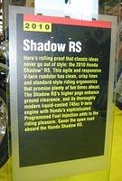 Honda Shadow RS info
