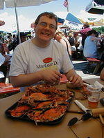 Andy likes crabs!