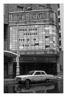 My 61' Ford Falcon outside the old United Artist theater, downtown Detroit.
