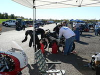 morgan, angelini, and waxman tweaking the beautiful (cough . . cough) TT600